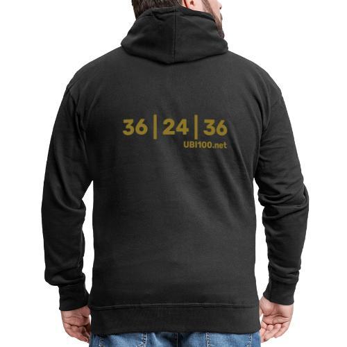 36 | 24 | 36 - UBI - Men's Premium Hooded Jacket