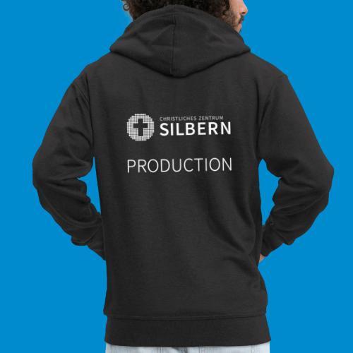 Silbern Production - Männer Premium Kapuzenjacke