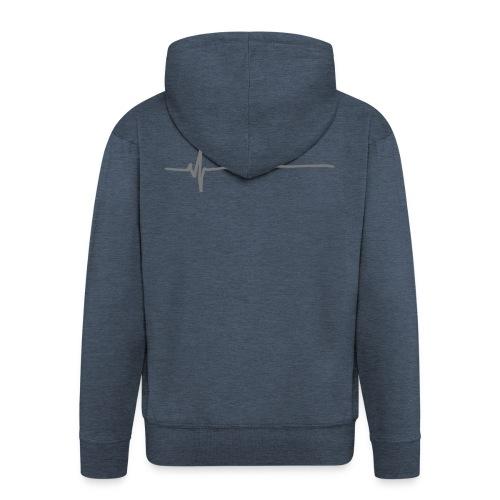 Flatline - Men's Premium Hooded Jacket