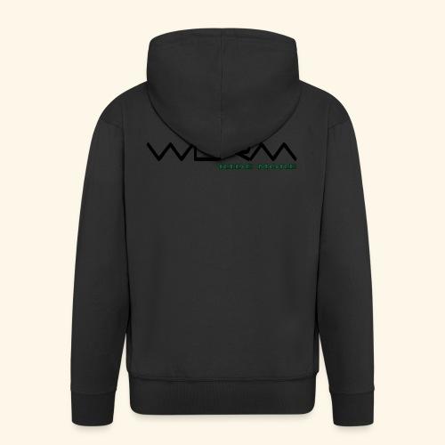 WLRM Schriftzug black png - Männer Premium Kapuzenjacke