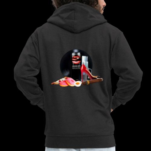 Luxury Energy Drink [Cyber Glam Collection] - Men's Premium Hooded Jacket