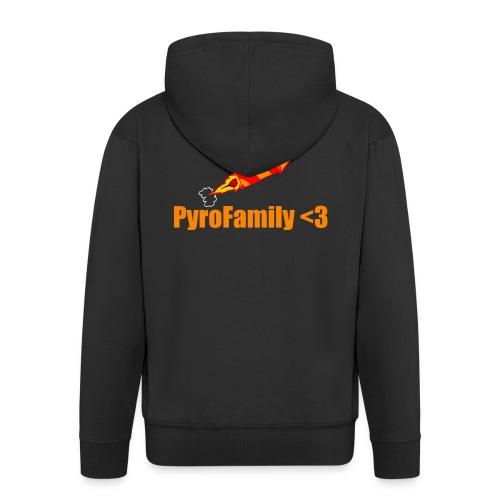 PyroFamily<3 - Männer Premium Kapuzenjacke