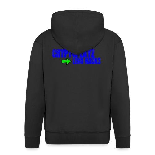 CryptoFans Hacks - Men's Premium Hooded Jacket