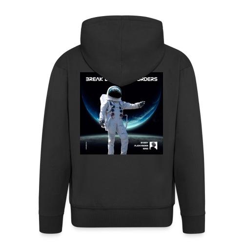 Break Down The Borders - Men's Premium Hooded Jacket