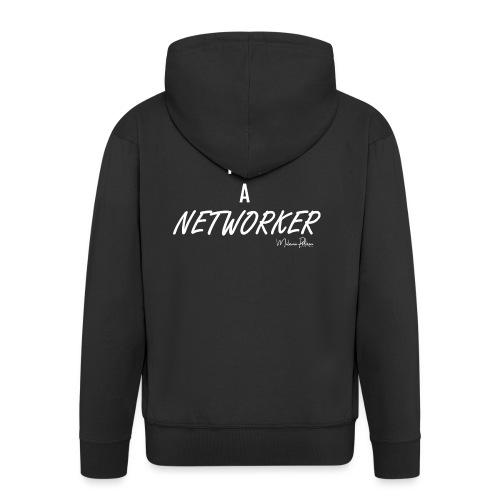 I AM A NETWORKER - Veste à capuche Premium Homme