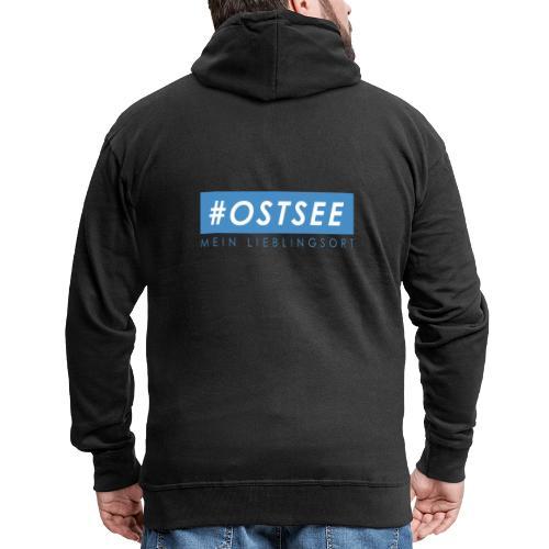 #ostsee - Männer Premium Kapuzenjacke