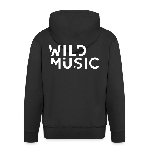 Wild Music Logo - Chaqueta con capucha premium hombre