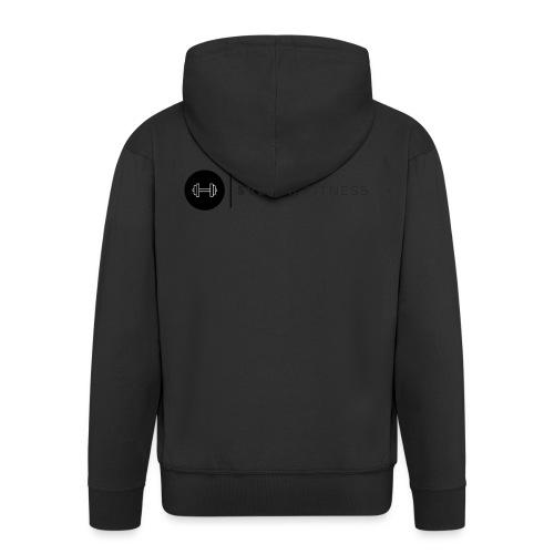 Linne med vertikal logo - Premium-Luvjacka herr