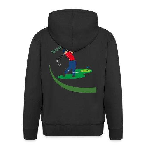 Golf - Veste à capuche Premium Homme