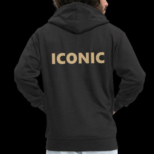 ICONIC [Cyber Glam Collection] - Men's Premium Hooded Jacket