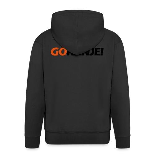 Go Ranje - Goranje - 2 kleuren - Mannenjack Premium met capuchon