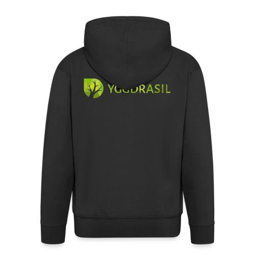 Yggdrasil Geocoder - Männer Premium Kapuzenjacke