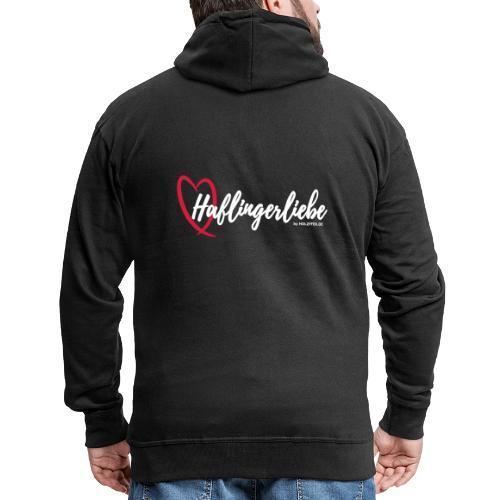 Haflingerliebe - Männer Premium Kapuzenjacke