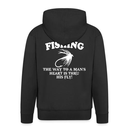 Fly Fishing Shirt - Men's Premium Hooded Jacket
