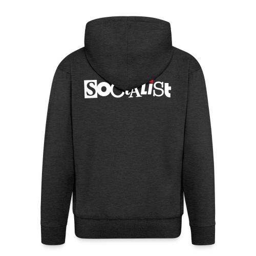 Socialist - Männer Premium Kapuzenjacke