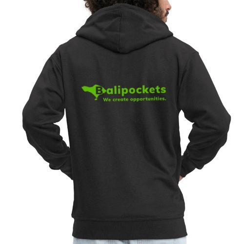 Balipockets Logo - Männer Premium Kapuzenjacke