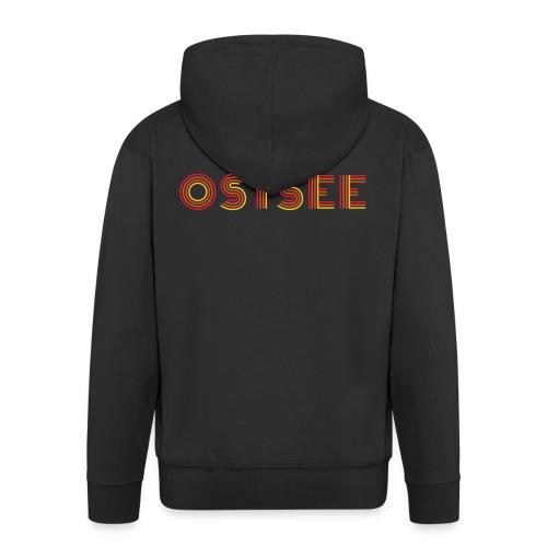 Ostsee Retro - Männer Premium Kapuzenjacke
