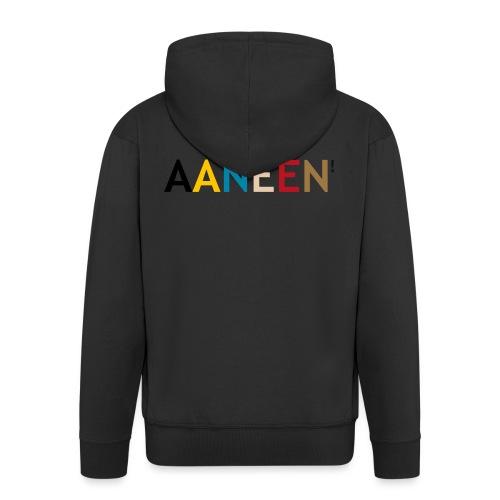 AANEEN_Alleen_Letters - Mannenjack Premium met capuchon