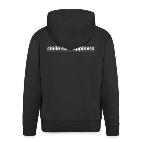smile for happiness - Premium-Luvjacka herr