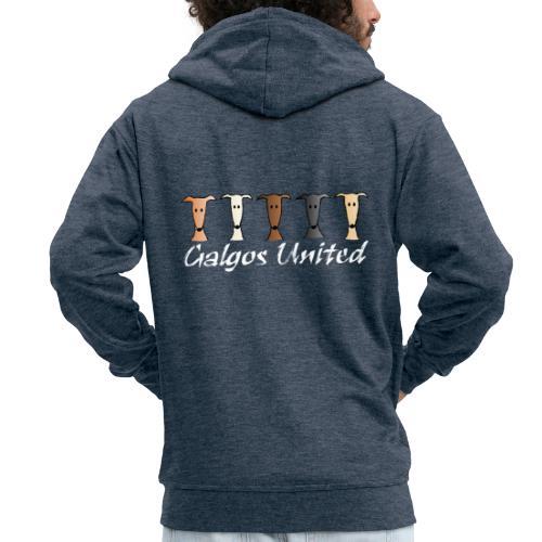 Galgos united - Männer Premium Kapuzenjacke