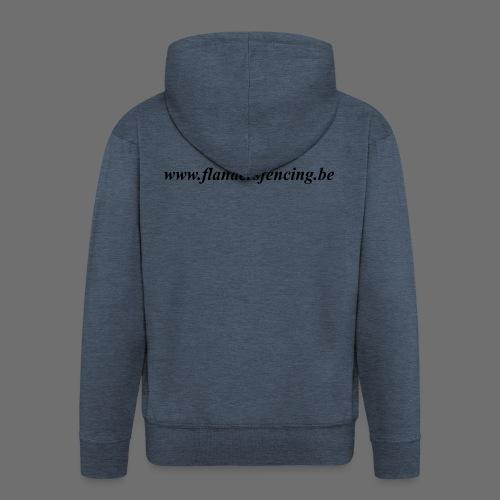 wwww.flandersfencing.be - Mannenjack Premium met capuchon