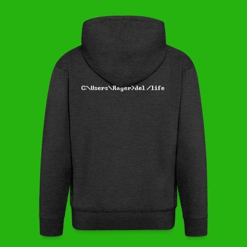 Programming Get A Life - Men's Premium Hooded Jacket
