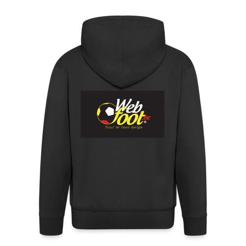 webfoot.be - Veste à capuche Premium Homme