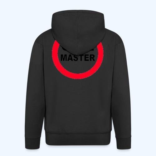 Quiz Master Stop Sign - Men's Premium Hooded Jacket