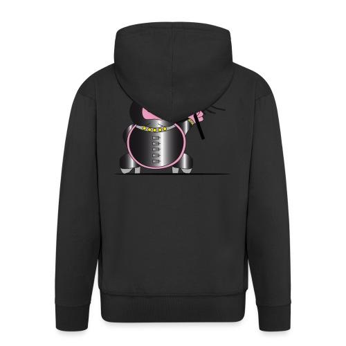 Schweinchen Sado - Männer Premium Kapuzenjacke