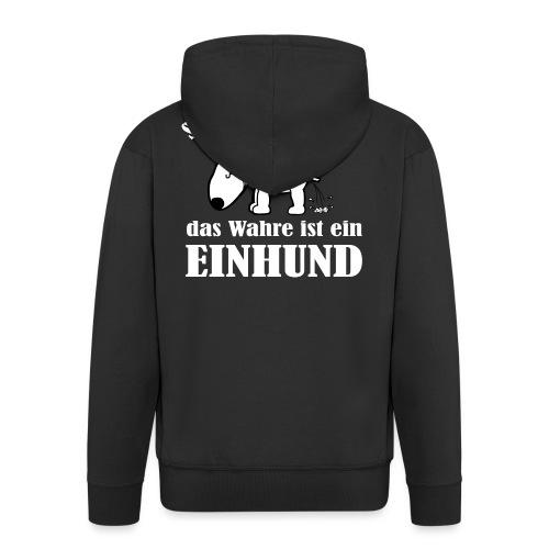 Einhund - Männer Premium Kapuzenjacke