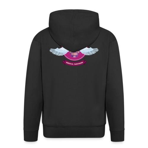 Paloma Rossi - Flying Skull Limited Edition - Männer Premium Kapuzenjacke
