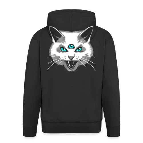 Third Eye Meow - Men's Premium Hooded Jacket