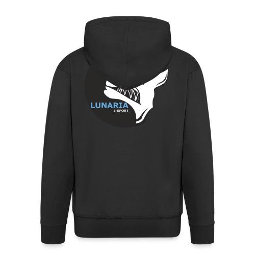 Lunaria_Logo tete pleine - Veste à capuche Premium Homme