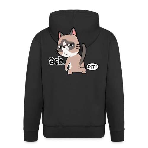 Katzenpups - Männer Premium Kapuzenjacke