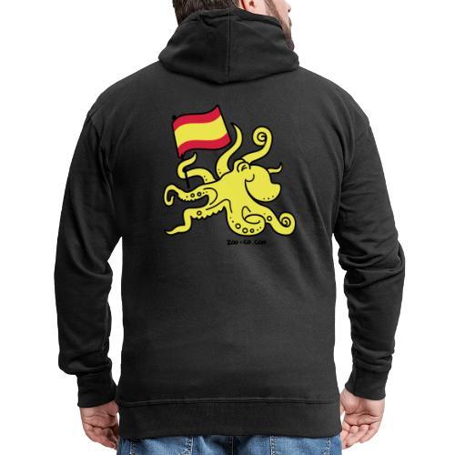 Paul the Octopus is Spanish! - Men's Premium Hooded Jacket
