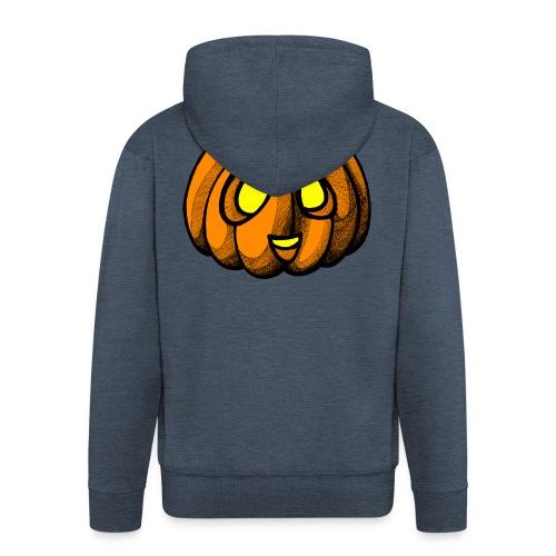 Pumpkin Halloween scribblesirii - Herre premium hættejakke