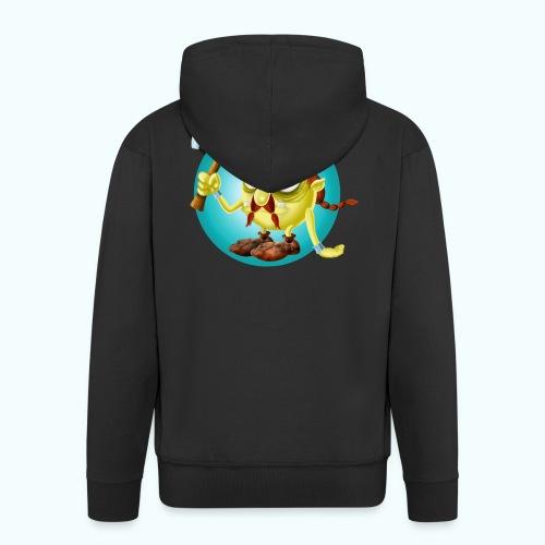 Gnome 1 - Men's Premium Hooded Jacket