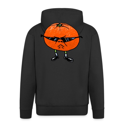 Tangerine Man - Men's Premium Hooded Jacket