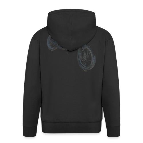 bike (Vio) - Men's Premium Hooded Jacket