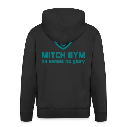 Logo_Mitch_Gym edit - Mannenjack Premium met capuchon