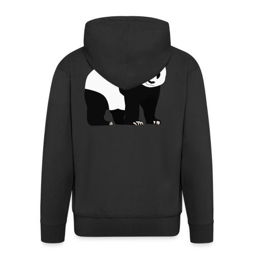 Panda - Miesten premium vetoketjullinen huppari