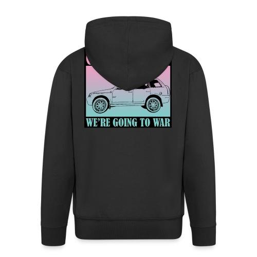 Get in Nerds! - Men's Premium Hooded Jacket