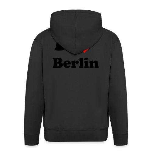 love berlin - Männer Premium Kapuzenjacke