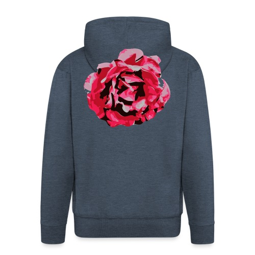 rose - Männer Premium Kapuzenjacke