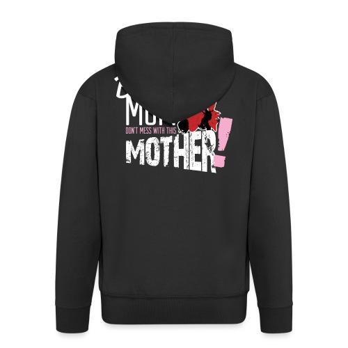 Biker Mum T-Shirt - Men's Premium Hooded Jacket