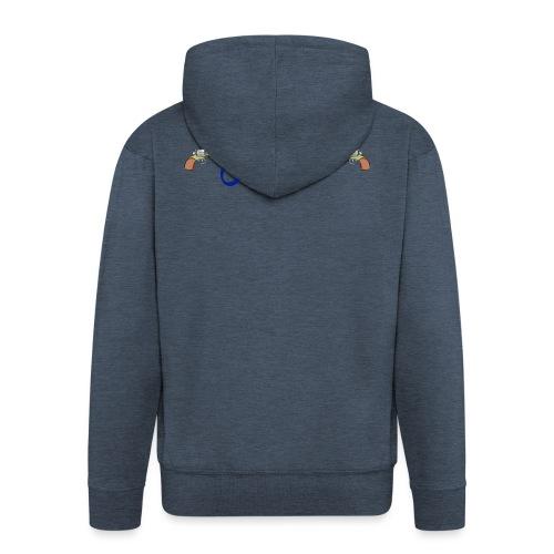 Waterpistol Sweater by MAUS - Mannenjack Premium met capuchon