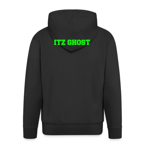 ITZ GHOST - Men's Premium Hooded Jacket