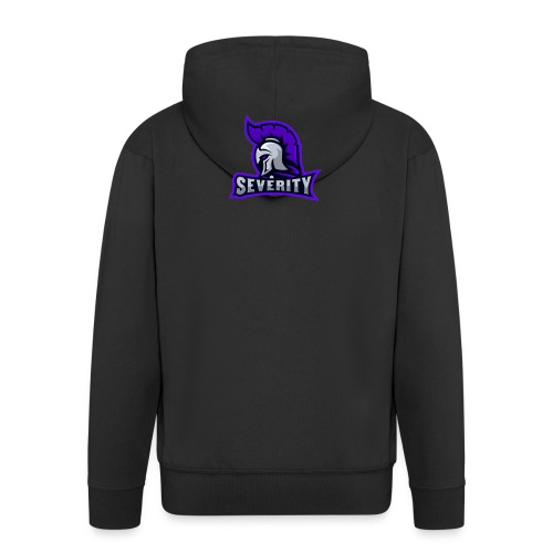 serverityggpnglogo-clothing - Men's Premium Hooded Jacket