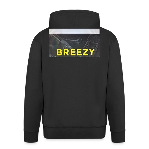 Breezy - Männer Premium Kapuzenjacke
