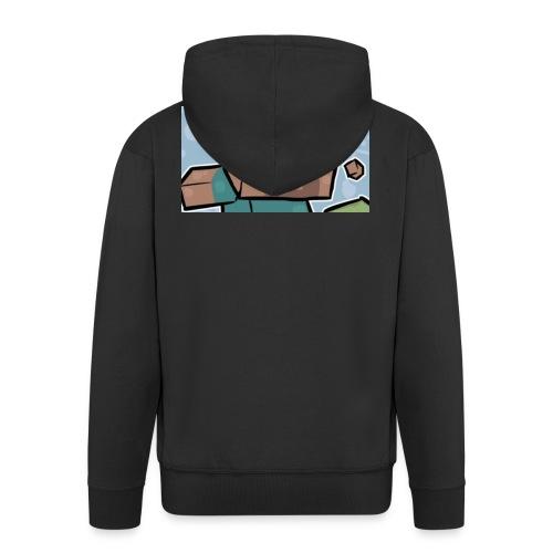gamerbryan 2 custom picture - Men's Premium Hooded Jacket